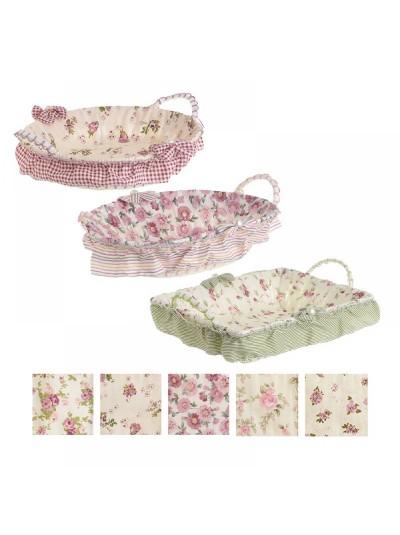 INART Ψωμιέρα/Καλάθι Floral Κωδικός: 6-60-151-0004