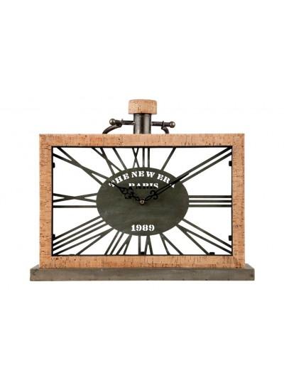 Επιτραπέζιο Ρολόι με Φελλό TRIMAR