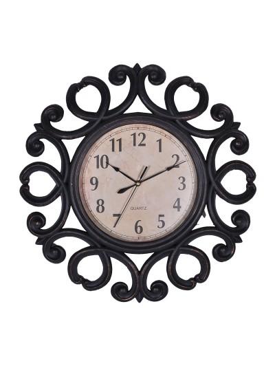 Ρολόι Τοίχου Καφέ FYLLIANA Κωδικός: 260-91-107 Διαστάσεις: 50.8 Εκατοστά