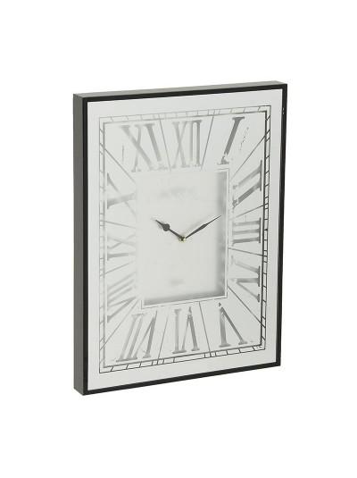 INART Μεταλλικό Ρολόι Τοίχου Με Καθρέπτη Κωδικός: 3-20-237-0001 Διαστάσεις: 45Χ5Χ60 Εκατοστά