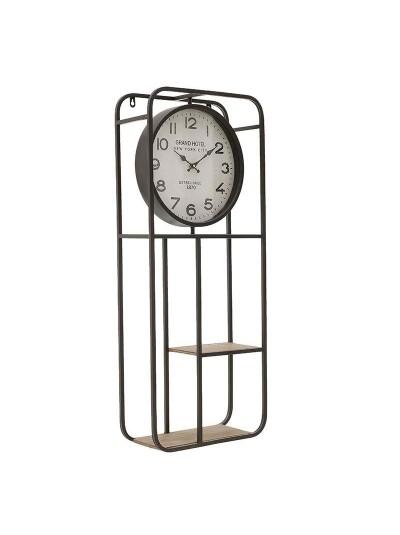 INART Μεταλλικό Ρολόι/Ράφι Τοίχου Κωδικός: 3-20-484-0440 Διαστάσεις: 35.5Χ15Χ86 Εκατοστά