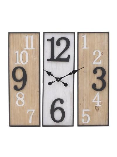 Ρολόι Τοίχου 3-20-484-0458 3-20-484-0458