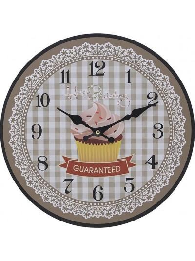 "INART Ρολόι Τοίχου ""Cupcake"" Κωδικός: 3-20-773-0334 Διαστάσεις: 34Χ4 Εκατοστά"