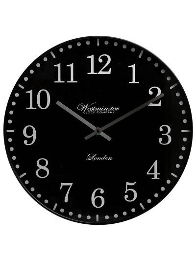 INART Πλαστικό Ρολόι Τοίχου Μαύρο Κωδικός: 3-20-864-0113 Διαστάσεις: 51Χ4 Εκατοστά