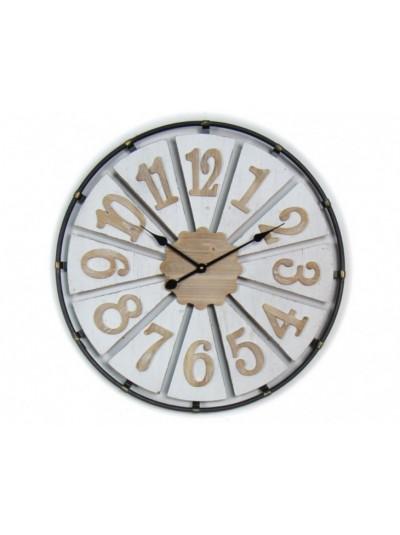 Ξύλινο Ρολόι Τοίχου 72 Εκ. Oriana Ferelli ΚΩΔΙΚΟΣ: 50-XY190113