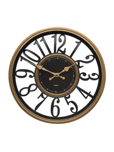 Ρολόι Πλαστικό Χρυσό/Χάλκινο ANKOR Κωδικός: 795802 Διαστάσεις: 31 Εκατοστά