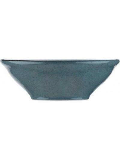 Pearl Mood Σαλατιέρα Πορσελάνης Μπλε 24εκ - KXFD12024
