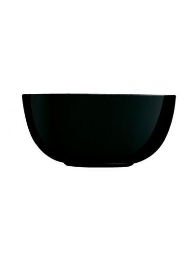 Σαλατιέρα σε μαύρο χρώμα της σειράς Diwali της Luminarc Διάσταση: 21 Εκατοστά