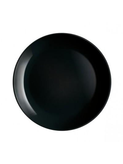 Πιάτο φαγητού 27 εκατοστών σε Μαύρο Χρώμα Από Την Σειρά Diwali της Luminarc