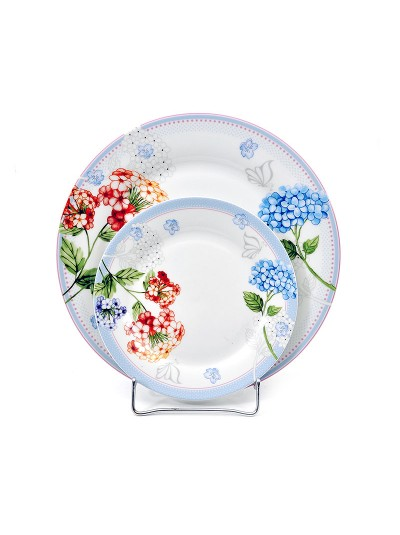 Σετ Πάστας 7 Τεμαχίων  FYLLIANA Κόκκινο-Μπλε Λουλούδι Κωδικός: 04-16-068