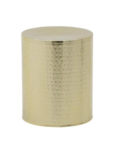 INART Μεταλλικό Σκαμπώ Χρυσό Κωδικός: 3-50-350-0035 Διαστάσεις: 33Χ40 Εκατοστά