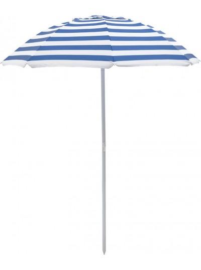 INART Ομπρέλα Θαλάσσης 1.6m Μπλε Χρώμα Κωδικός: 6-70-151-0018-2