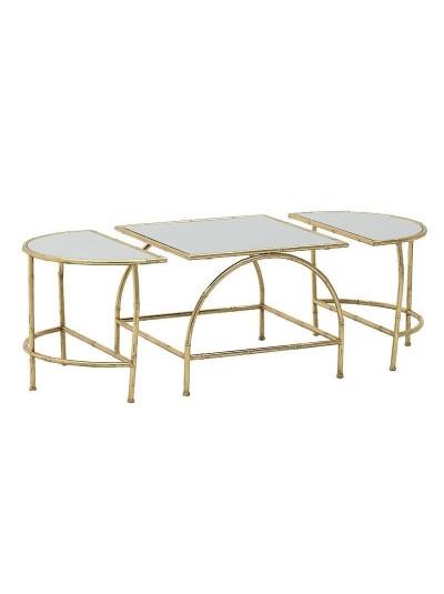 Τραπέζι Σετ Των 3 3-50-954-0087 Διαστάσεις (ΜΠΥ)120εκ x 58εκ x 44εκ 3-50-954-0087