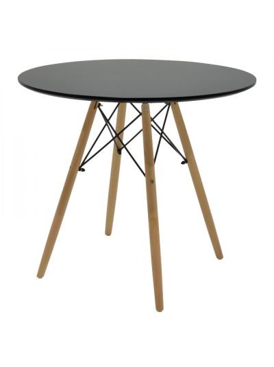 Ξύλινο τραπέζι στρογγυλό Φ80 Κωδικός: 33-950-1936