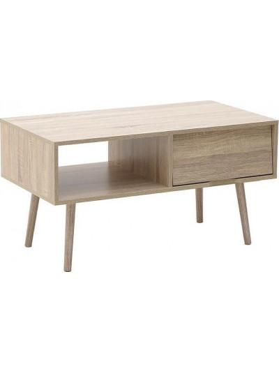 Τραπέζι Σαλονιού INART Ξύλινο / Natural Κωδικός: 6-50-003-0008 Διαστάσεις: 90Χ48Χ47 Εκατοστά
