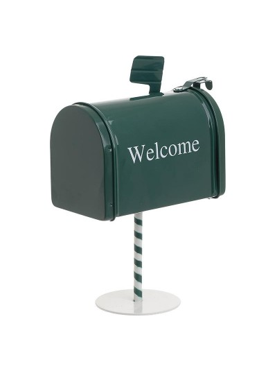 INART Γραμματοκιβώτιο Xmas Μεταλλικό Κωδικός: 2-70-151-0006 Διαστάσεις: 14Χ8Χ19 Εκατοστά