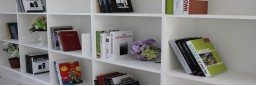 OFFICE BOOKCASES (4)
