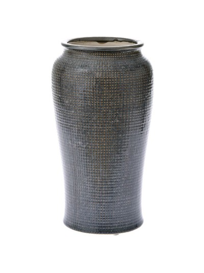 Κεραμικό Βάζο Γκρι 17Χ32 Εκατοστά