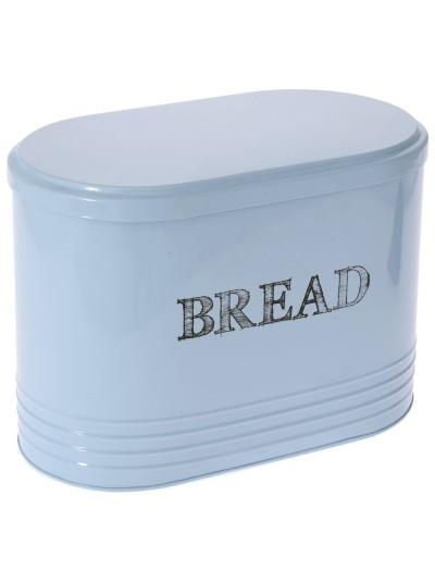 Ψωμιέρα  Μεταλλική Σιέλ Bread Box Vintage 33 X 19 X 24 Eκ