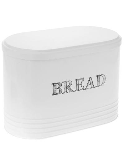 Μεταλλική Ψωμιέρα Εκρού Bread Box Vintage 33 X 19 X 24 Eκ
